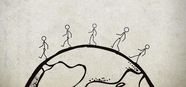 Сколько идти пешком вокруг Земли