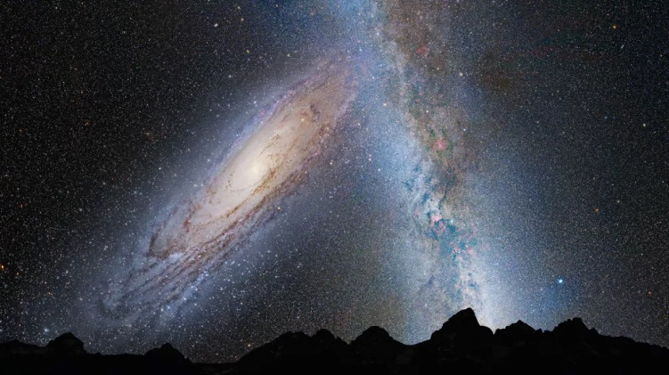 Столкновение с Андромедой