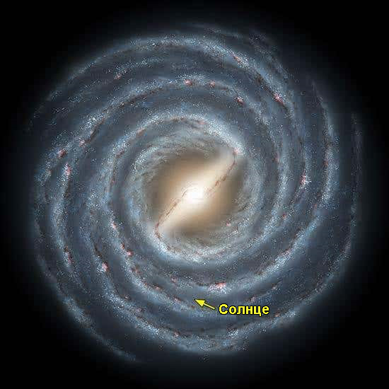 В галактике