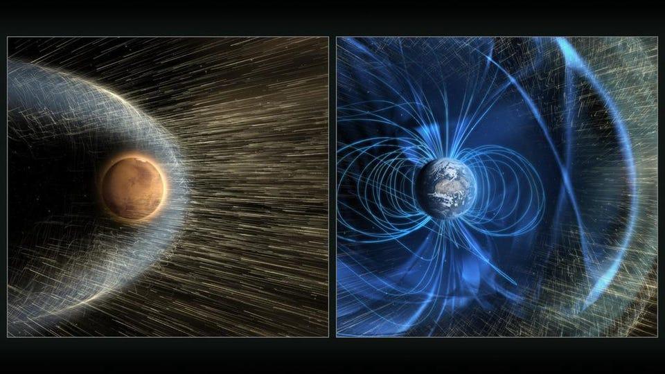 Исчезновение атмосферы Марса